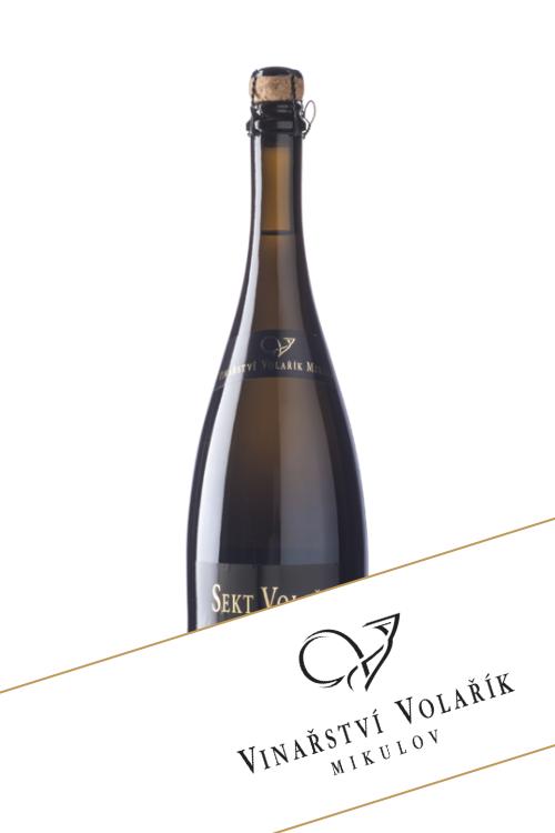 Sekt cuvéé 2013 Chardonnay, Rulandské bílé, Sauvignon